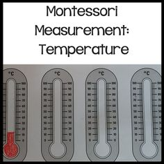 Are you looking for a resource you can dip in and out of for 5-10 year olds to teach temperature? This resource is for you,Designed by a Montessori and State trained teacher this resource is packed full of a variety of resources.