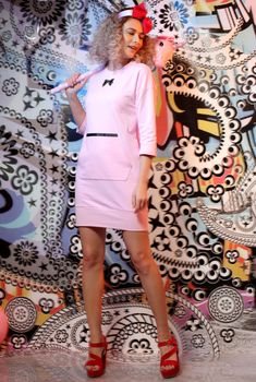 #pink #pinkdress #casualdress #spring21 #springlook #cottondress #qualityfashion #yokko #madeinromania Spring Looks, Cotton Dresses, Shirt Dress, T Shirt, Pink Dress, Casual Looks, Casual Outfits, How To Make, Fashion