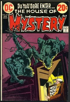 Devils On The Roof - The Blue Devils - The Horror House - The Old Man Escape - The Mystery Town - Bernie Wrightson Horror Comics, Scary Comics, Sci Fi Comics, Old Comics, Vintage Comics, Horror Art, Horror Books, Comic Book Artists, Comic Books Art