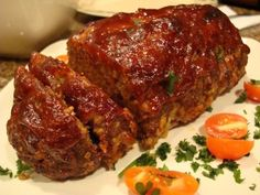 Probably one of the best meatloaf recipes I've ever had.  The whole site is awesome!