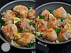 Chicken with Lemon Sauce Turkish Recipes, Italian Recipes, Ethnic Recipes, Fish And Meat, Fish And Seafood, Lemon Sauce For Chicken, Turkey Today, Turkish Kitchen, Fresh Fruits And Vegetables
