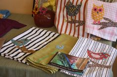 I think this would be fun to make... I love dish towels.