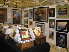 Portable Display Racks Craft Shows | ... fits in a 10 foot x 10 foot space. It displays our prints very nicely