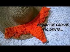 calcinha biquini de crochê levanta bumbum parte 03 - YouTube