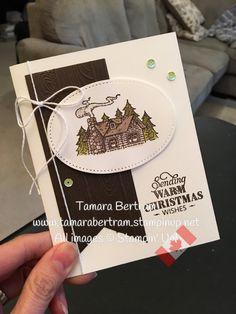 Tamara& Paper Trail: Stampin& Up! - stampin up - Homemade Christmas Cards, Stampin Up Christmas, Homemade Cards, Christmas Tag, Christmas 2019, Christmas Ideas, Xmas Cards, Holiday Cards, Stampin Up Weihnachten