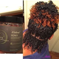 My wash n go using a new new: the Design Essentials Curl Forming Custard got my curls POPPIN'! I purchased it at Sally's yesterday for 15 bucks or something. It's smells soooo GOOD! It has honey, chamomile and other extracts. I will highly suggest this p Pelo Natural, Natural Hair Tips, Natural Hair Journey, Natural Hair Styles, Undercut Natural Hair, Going Natural, Natural Curls, Cabelo 3c 4a, Twisted Hair