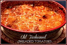 1 quart (32. oz.) canned tomatoes, do not drain (if buying store bought, buy the crushed tomatoes) 10 slices of day old white bread (like s...