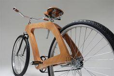 The Embira Bicycle Frame by Thomas Pascoli Scott Ecole Design, Wood Bike, Got Wood, Low Carbon, Art Case, Bike Frame, Carbon Footprint, Wooden Frames, Metal