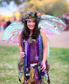 Magical Zinnia the Fairy Arizona Renaissance Festival by gbrummett, via Flickr