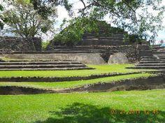 Tazumal -Largest Mayan ruins in El Salvador Omg I'm gonna be in El Salvador next week