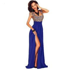 Echoine 2017 Summer Short Sleeve Women Amazing Gold Lace Overlay Slit Elegant Party Maxi Dress Gowns Vestidos -  Cheap Product is Available. Here we will provide the best deals of finest and low cost which integrated super save shipping for Echoine 2017 Summer Short Sleeve Women Amazing Gold Lace Overlay Slit Elegant Party Maxi Dress Gowns Vestidos or any product promotions.  I hope you are very happy To be Get Echoine 2017 Summer Short Sleeve Women Amazing Gold Lace Overlay Slit Elegant…