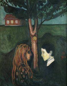 "Edvard Munch ""Eye in Eye"""