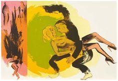 Swing Low (Second Thoughts Portfolio), by Allen Jones. Allen Jones is one of the last living Pop Artists. Jones was one of a group of students which included D. Allen Jones, Roy Lichtenstein, Andy Warhol, Chelsea School Of Art, James Rosenquist, Claes Oldenburg, Jasper Johns, Royal Academy Of Arts, Artist Biography