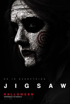 Jigsaw Movie Poster ( of Horror Movie Posters, Horror Movies, Horror Icons, Cinema Posters, Jigsaw Movie, Web Movie, Movie Film, Free Jigsaws, Full Movies Download