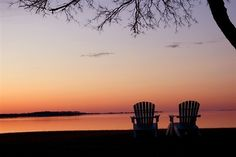 Sunset at Lodgecliffe on the Choptank in Cambridge, MD