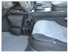 Amazon.com : Concealed Carry Automotive / Car holster with 3-Mag Pouch and iPhone Pocket : Gun Holsters : Sports & Outdoors