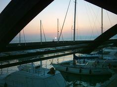 """Il Porto della Maremma """"colorato"""" di rosa"""