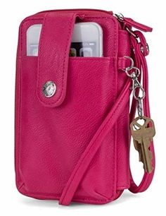 MUNDI Jacqui Vegan Leather RFID Womens Crossbody Cell Phone Purse Holder  Wallet  fashion  clothing  shoes  accessories  womensaccessories  wallets  (ebay ... ccce51248a6