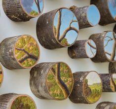 Log Series by Alison Moritsugu via My Modern Met and Hi Fructose.