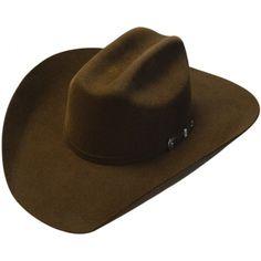 54c574d1c0200 Adult Top Champ 4X Chocolate Brown Wool Cattleman Cowboy Hat Felt Cowboy  Hats