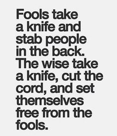 Sharpen that knife for a quick cut.