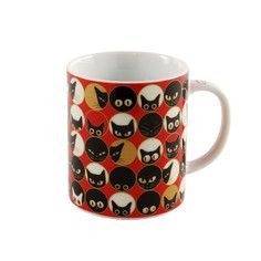 Cat Eye Mug Red, $13, now featured on Fab.