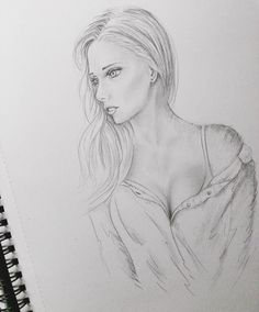 Frau Badass Drawings, Realistic Pencil Drawings, Pencil Art Drawings, Drawing Ideas List, Art Du Croquis, Girl Drawing Sketches, Figure Drawing, Female Art, Face Drawings