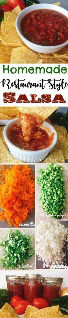homemade salsa