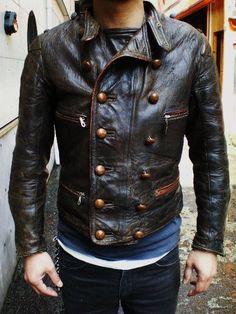 Men's Leather Jacket, Vintage Leather Jacket, Leather Men, Leather Jackets, Black Leather, Leather Fashion, Mens Fashion, Fashion Outfits, Retro Mode