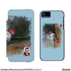 Bodegón/Natureza morta/Still life Funda Cartera Para iPhone 5 Watson