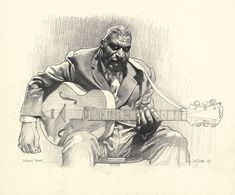 Very nice Howlin' Wolf drawing by Sebastian Kruger! by fay Figure Drawing, Painting & Drawing, Pencil Painting, Sebastian Kruger, Drawing Sketches, Art Drawings, Shetland, Wow Art, Art Graphique