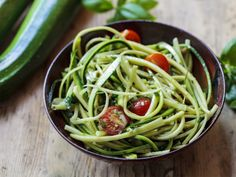 Courgetti - a growing trend