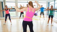entraînement de groupe hula hoop