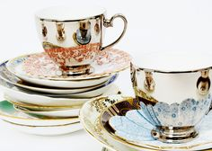 Richard Brendon's spiffy teacups. Time for a spot of tea!!!!