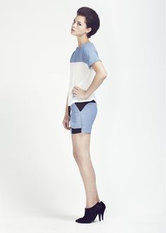 Hot tailoring and luxe silk from Christopher Waller this season!