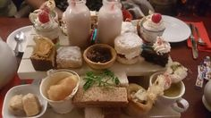 Christmas afternoon tea at the Grapes Croston