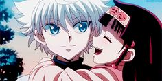 Discover & share this Killua Zoldyck GIF with everyone you know. GIPHY is how you search, share, discover, and create GIFs. Killua, Alluka Zoldyck, Hisoka, Hunter X Hunter, Hunter Anime, City Hunter, Anime Kiss, Anime Manga, Anime Art