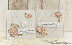 Blog studio75.pl: Kartki ślubne / Wedding cards