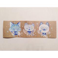 ❄️Winter kitty fairies for creaturesatwork.tumblr.com Web Instagram User » Followgram