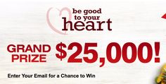 Enter for a chance to win $25,000.  Ends: 01/31/2018 Value: $25,000.00 Eligibility: US 13+ Daily Entry!  Enter: http://giveawayplay.com/2017/02/04/25000-sweepstakes-puritanaposs-pride/