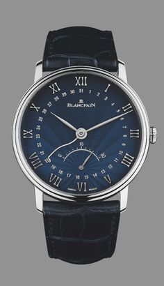 The Art Of The Dial: The Blancpain Retrograde Small Seconds With Flinqué Enamel Dial