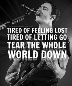 rockbandquotes: Breaking Benjamin - Failure. All these new songs omfg I can't take it