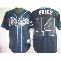 Rays  14 David Price Dark Blue Cool Base Stitched MLB Jersey Memphis  Grizzlies Jersey 063d0d335