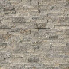 Order MS International Stone Siding - Travertine Silver Collection Silver / Ledgestone / / Travertine, delivered right to your door. Fireplace Accent Walls, Stone Accent Walls, Fireplace Ideas, Tiled Fireplace, Basement Fireplace, Stone Mosaic Tile, Travertine Tile, Tile Mosaics, Slate Wall Tiles