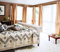 The Coolest It-Girl Bedrooms We Want to Steal via @MyDomaine