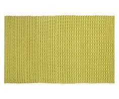 Tappeto in cotone vellutato Velvet verde - 300x200 cm