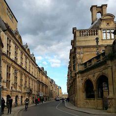 Streets of #Cambridge on Sunday. by elenatorresani