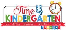 A kindergarten blog for kindergarten teachers. Sharing math, literacy, languagea arts, common core and more.
