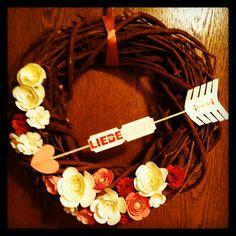 Wreath # Valentine # Stampin up!