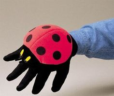 Ladybug, ladybug, how does your garden grow? No childhood is complete without these colorful polka dotted stewards of the garden! This Folkmanis LADYBUG glove puppet fits growing hands of all sizes, f More